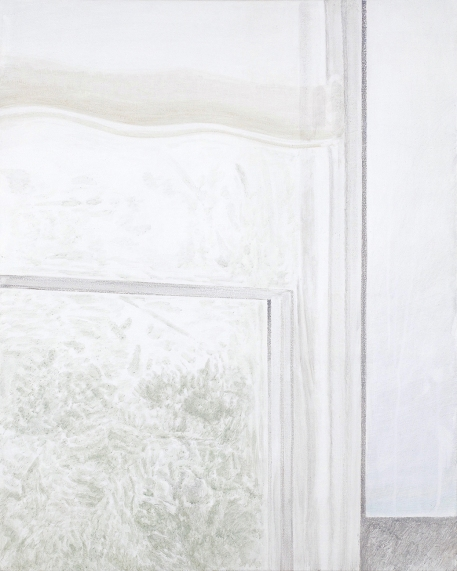 Untitled, acrylic on linen, 24 x 30''